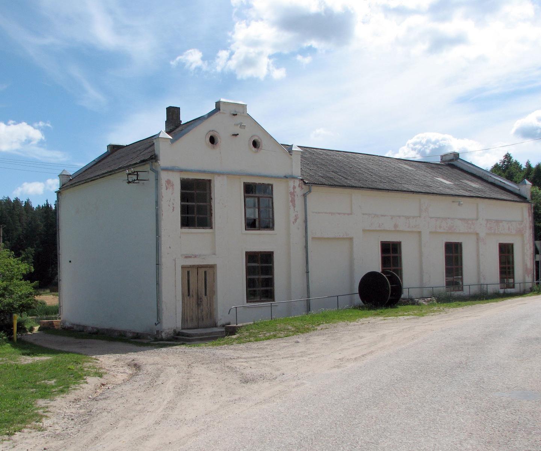 Гидроэлектростанция-музей в Леэваку
